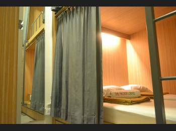 The Packer Lodge Yogyakarta - Hostel Yogyakarta - Double Bed in 2-Bed Mixed Dormitory Room Regular Plan