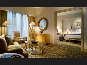 JW Marriott Jakarta - Governor Suite, 1 King Bed, Executive Lounge Access, City View Regular Plan