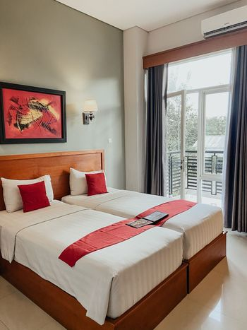 Prima SR Hotel & Convention  Yogyakarta - Deluxe Twin Tanpa Sarapan Regular Plan