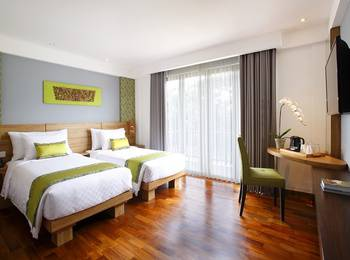 Swiss-Belhotel Petitenget - Deluxe Twin Paddy View  Hot Deal Hemat 15%