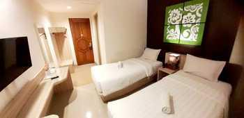 Grand Aularis Hotel Semarang - Standard Twin Lantai 3 Regular Plan