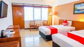 Capital O 1616 Setiabudhi Indah Hotel Bandung - Deluxe Twin Room Regular Plan
