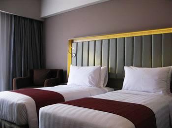 Gammara Hotel Makassar - Superior Twin Regular Plan
