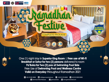 Gammara Hotel Makassar - Superior King Ramadhan Package Last Minutes 15%
