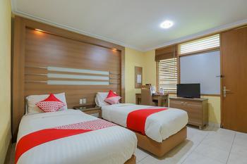 OYO 918 Hotel Senen Indah Syariah Jakarta -  Standard Twin Room Regular Plan