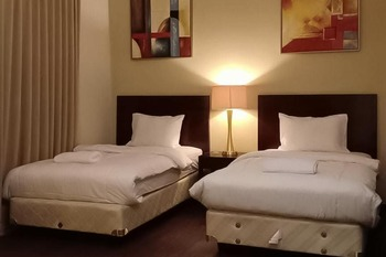 Apartment Mediterania Ancol Jakarta - Deluxe Twin Room Last Minute Deal