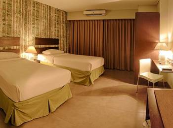 Bali World Hotel Bandung - Standard Room (No breakfast) Second Building (Twin Bed Only) JANUARI - FEBRUARI STD ROOM ONLY SAVE IDR 175.000