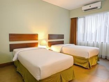 Bali World Hotel Bandung - Standard Room Second Building (Twin Bed Only) Regular Plan