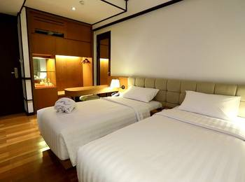 Namin Dago Hotel Bandung - Nice Twin Room Regular Plan