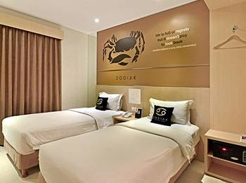 Hotel Zodiak Asia Afrika Bandung - Superior Twin Room Only Last Minute Deal