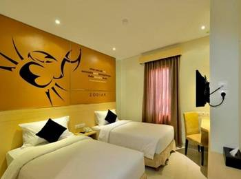 Hotel Zodiak Asia Afrika Bandung - Superior Twin Room Only Regular Plan