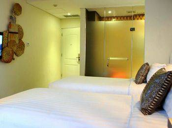 Couleur Hotel Cengkareng - Superior Room Twin Bed Regular Plan