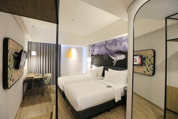 Luminor Hotel Purwokerto Banyumas - Deluxe Twin Room Only Regular Plan
