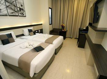 Atlantic City Hotel Bandung - Superior Room Twin Regular Plan