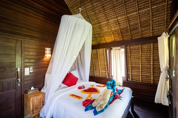 Dream Beach Kubu Hotel by WizZeLa Lembongan - Deluxe Bungalow Sea View 24 Hours Deal