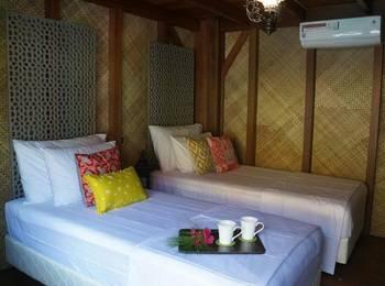 Bleu Verde hotel Turtle Point Beach Lombok - Deluxe Room Pool View Regular Plan