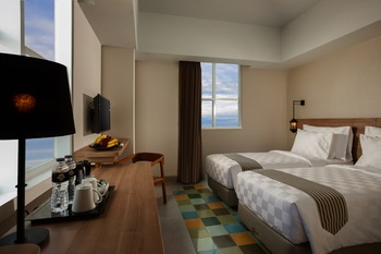 Pesonna Tugu Yogyakarta - Deluxe Panorama Twin Bed Room Only BASIC DEAL 20%