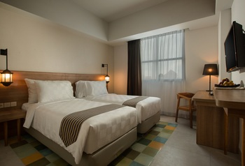 Pesonna Tugu Yogyakarta - Deluxe Twin Bed Room Only LAST MINUTE 23%