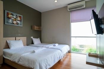 3J Home Lippo Karawaci Tangerang - Twin Room KETUPAT