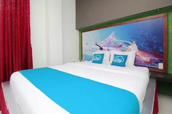 Airy Syariah Medan Sunggal MICC Gagak Hitam 92 - Deluxe Double Room Only Special Promo Jan 5