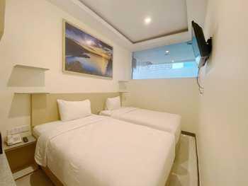 Batam Harbour Boutique Hotel & Spa Batam - Studio Twin Room Only Regular Plan