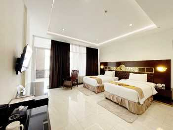 Batam Harbour Boutique Hotel & Spa Batam - Deluxe Balcony Twin Room Only Regular Plan
