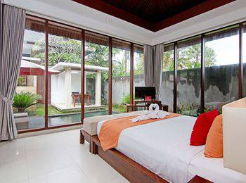 ZenRooms Pengosekan Ubud Villa Bali - Double Room Regular Plan