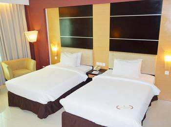 Grand Inna Daira Palembang - Deluxe Twin Room Only  Last Minute Booking