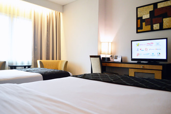 Grand Inna Daira Palembang - Deluxe Twin Room Only  Regular Plan