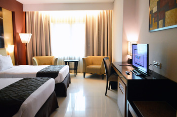 Grand Inna Daira Palembang - DeluxeTwinBreakfast+Massage+LightSnack+ShuttleAirport-9AM1PM Regular Plan