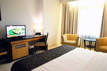 Grand Inna Daira Palembang - Deluxe Double Room Only Regular Plan