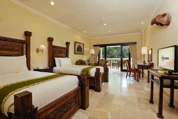 Ayung Resort Ubud - Deluxe Pool/Valley View Room with Free Benefits  Hot Deal