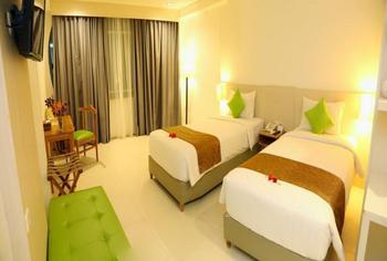 FOVERE Hotel Palangkaraya - Deluxe Twin Bed Room Regular Plan