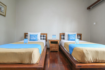 Airy Ubud Raya Andong Bali - Deluxe Twin Room With Breakfast Special Promo Jan 5