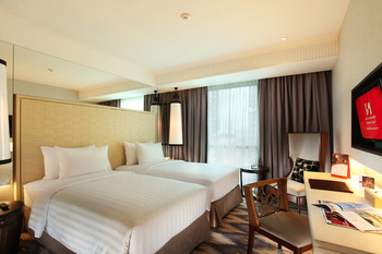 Swiss-Belresidences Kalibata - Deluxe Twin Room Only Special Offer 10% OFF