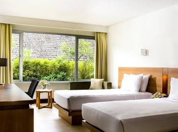 Hotel Santika Bandung Bandung - Deluxe Room Twin Staycation Offer Regular Plan