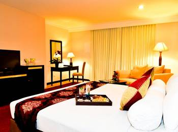 Garden Permata Hotel Bandung - Junior Suite Separated Living Room Last Minute Deal 55%