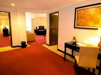 Sari Ater Kamboti Hotel & Convention Bandung - Kamboti Suite 3 Bed rooms Promo PDKT