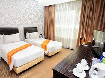 Swiss-Belhotel Kendari - Superior Twin Room Regular Plan