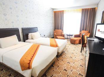 Swiss-Belhotel Kendari - Grand Deluxe Twin Room Only Regular Plan