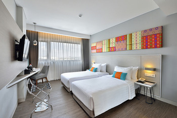 The 1O1 Palembang Rajawali - Deluxe Twin or Hollywood Room Only  Regular Plan