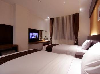Ardan Hotel Bandung - Deluxe Twin With Breakfast Regular Plan