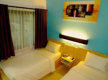 Palloma Hotel Kuta - Superior Twin Room Regular Plan