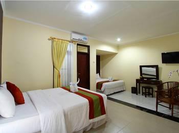 Jimbaran Lestari Hotel   - Deluxe Twin Room Regular Plan