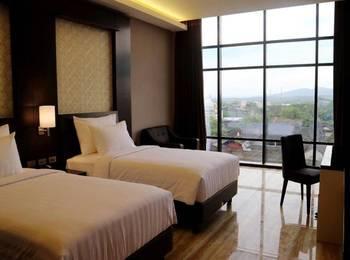 Grand Karlita Hotel Purwokerto Banyumas - Deluxe Twin Room  Promo Lebaran