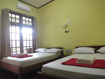 Sartika Hotel Prawirotaman Yogyakarta - Kamar Keluarga Deluxe Regular Plan