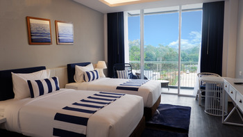 Swiss-Belresort Tanjung Binga Belitung - Deluxe Twin Garden View Minimum 2 Night and Save 10%OFF