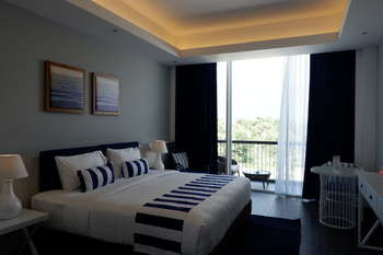 Swiss-Belresort Tanjung Binga Belitung - Deluxe King Garden View Minimum 2 Night and Save 10%OFF