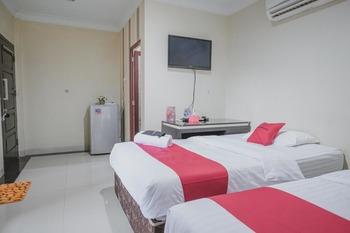 RedDoorz Syariah near Jamtos Jambi 2 Jambi - RedDoorz Twin Room with Breakfast Long Stays 3D2N