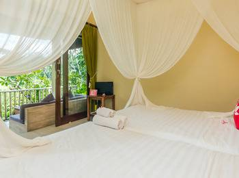 ZenRooms Ubud Mas - Double Room Regular Plan